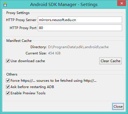 android-sdk-manager-blocked-cannot-update-solution-1